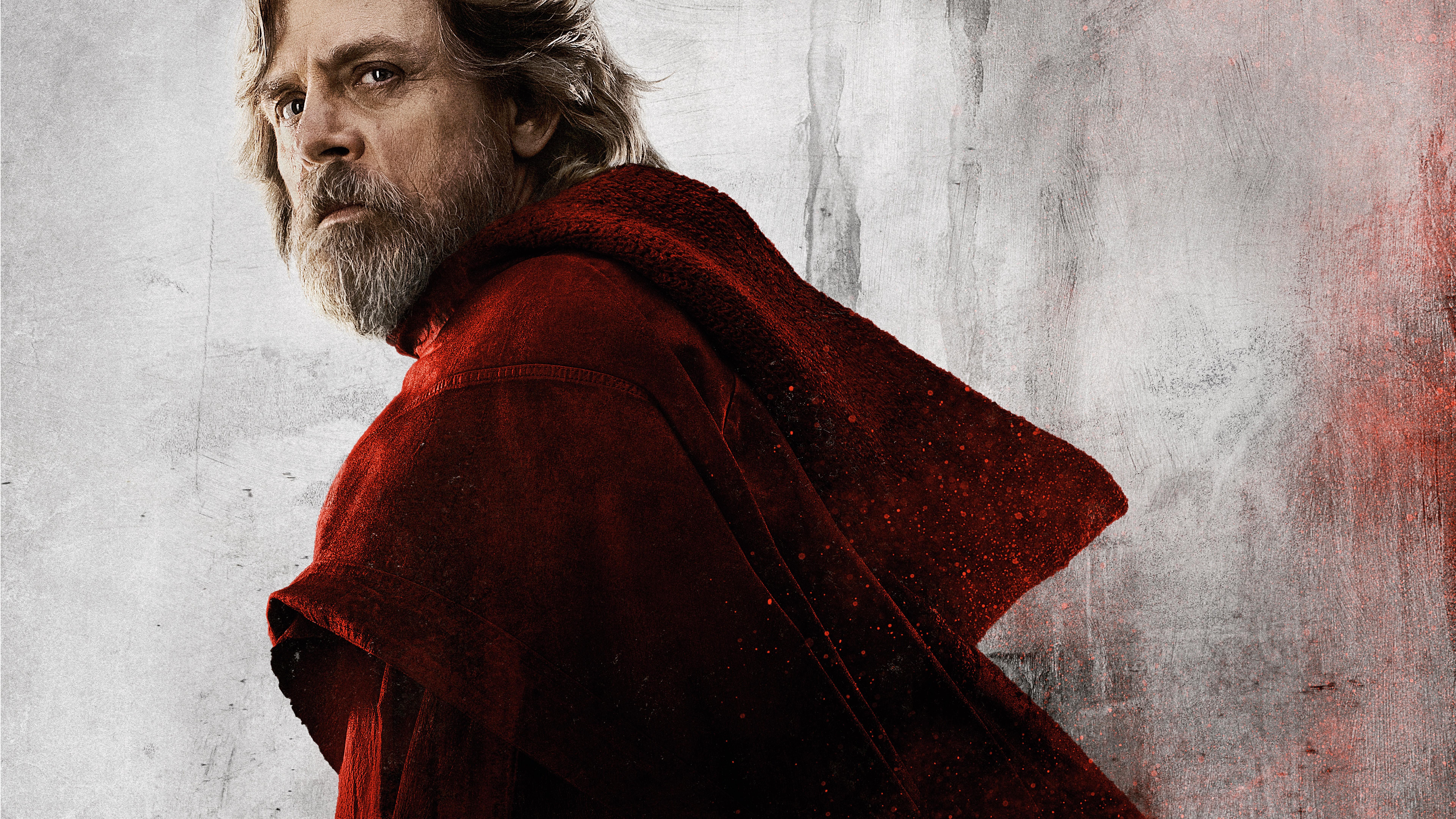 Wallpaper Star Wars The Last Jedi Mark Hamill 8k Movies 15103 7680x4320