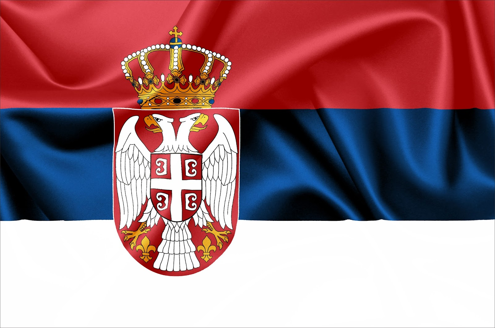 Zastava i grb Srbije   Serbian flag coat of arms Serbia Wallpapers 1600x1059