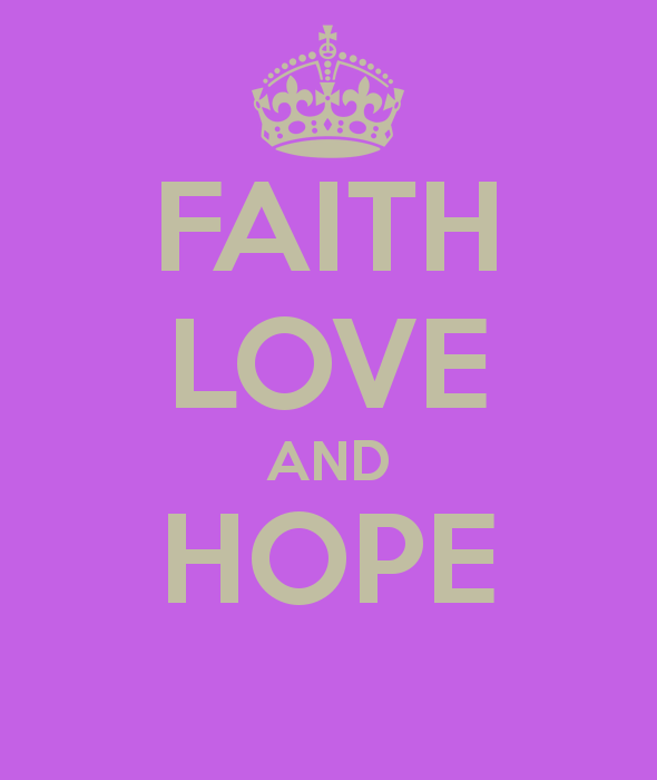 Faith Hope Love Wallpaper Wallpapersafari
