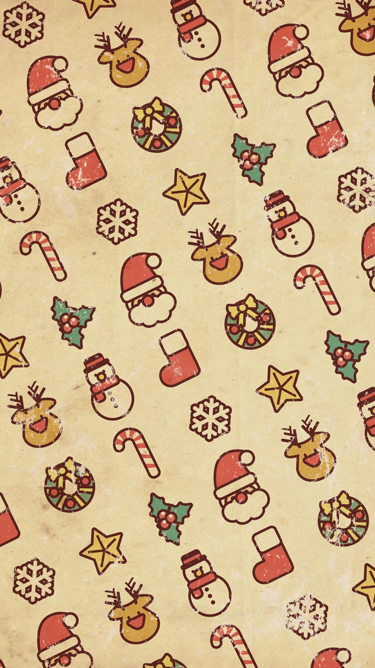 10 Best iPhone 6 6S Christmas Winter Wallpapers Backgrounds 750x1334