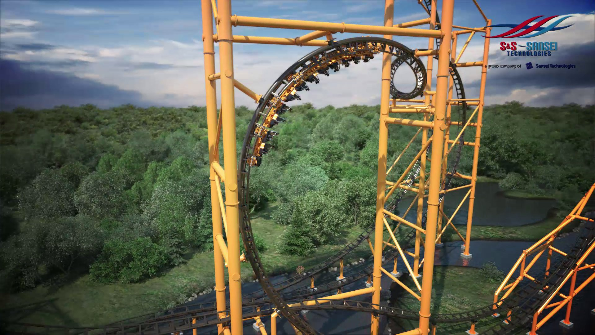 Steelers Country Kennywood Amusement Park 1920x1080
