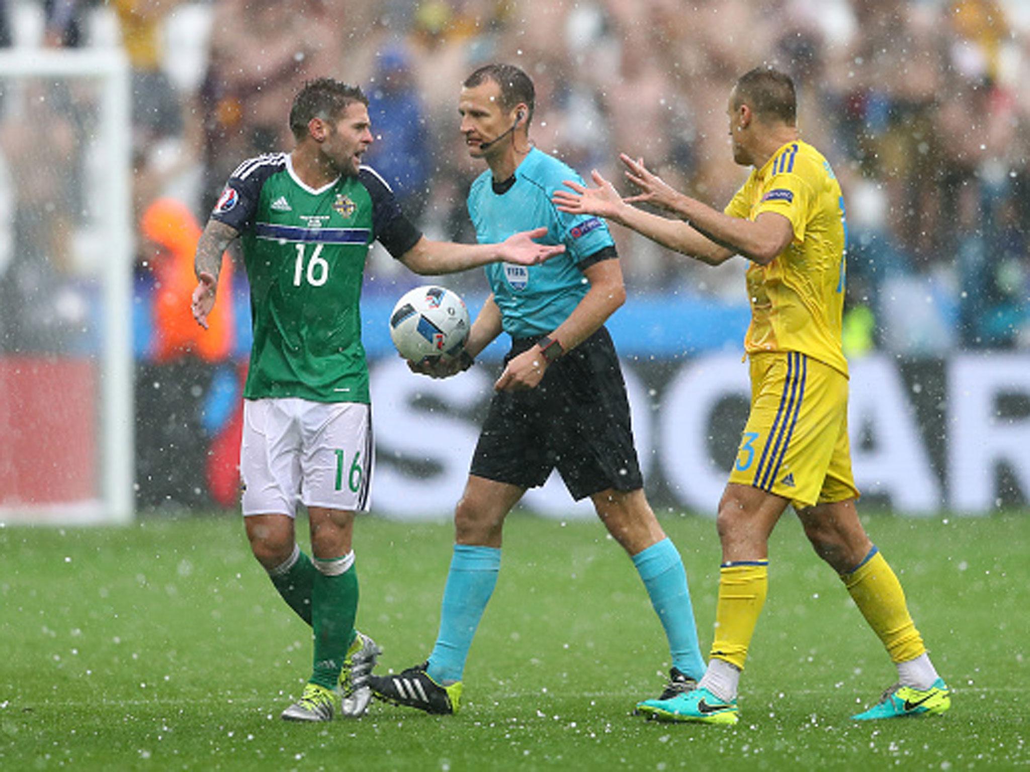 Ukraine vs Northern Ireland at Euro 2016 halted due to heavy rain 2048x1536