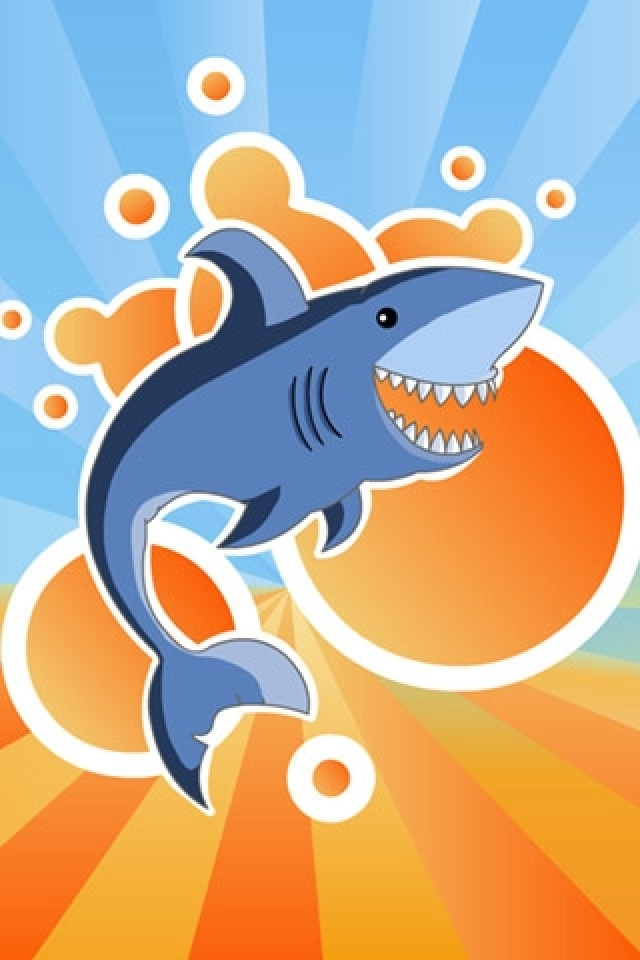 Shark Abstract iPhone HD Wallpaper iPhone HD Wallpaper download 640x960