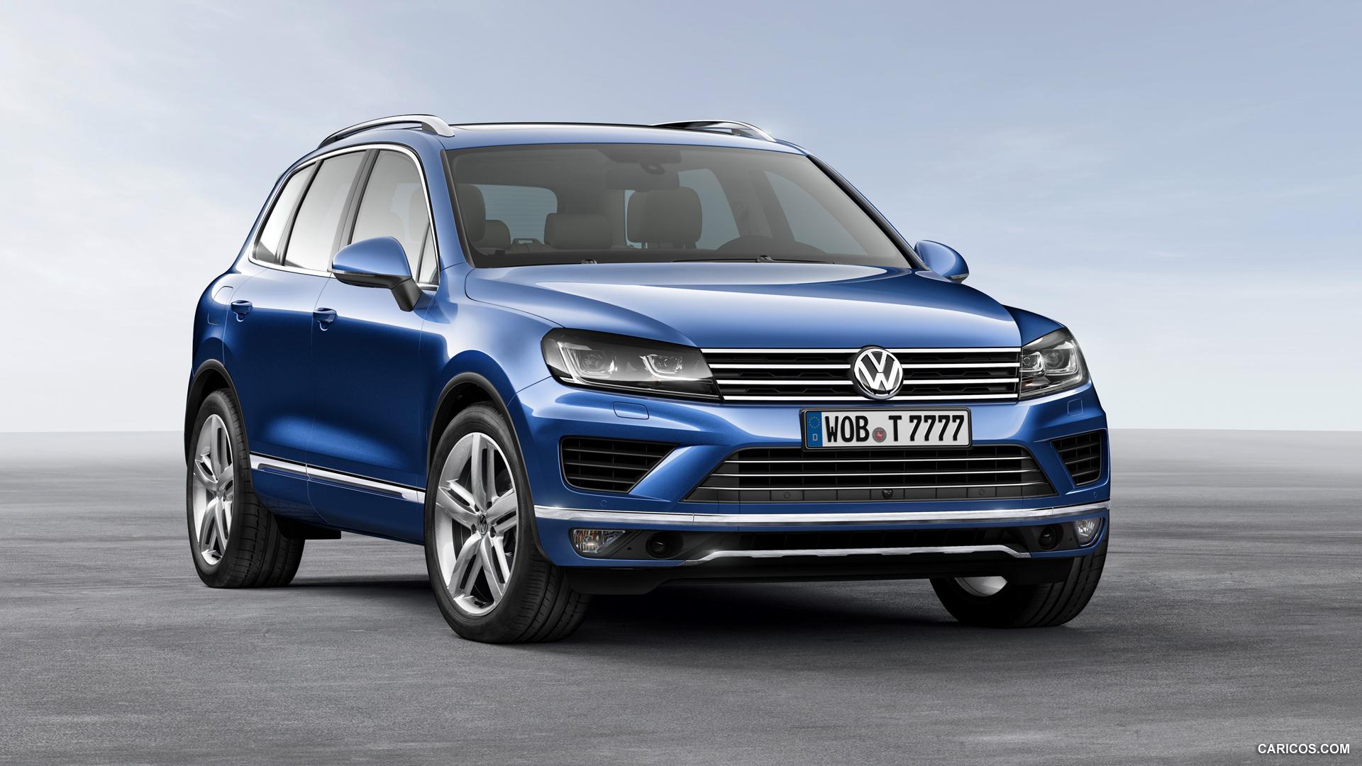 2015 Volkswagen Touareg   Front HD Wallpaper 3 1920x1080