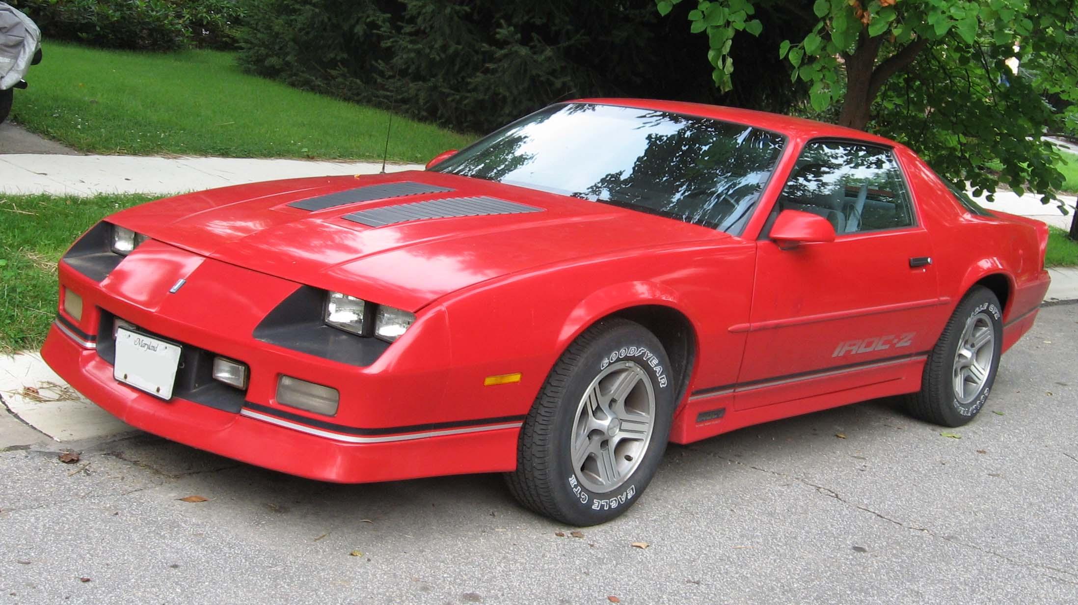 1985 Chevrolet Camaro IROC Z HD Wallpapers 7wallpapersnet 2196x1232