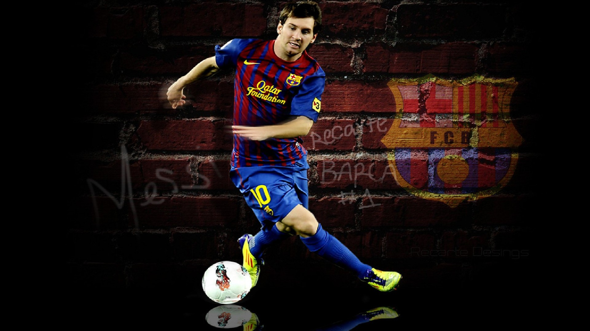 Messi Football Skills Wallpapers Players Teams Leagues 1920x1080