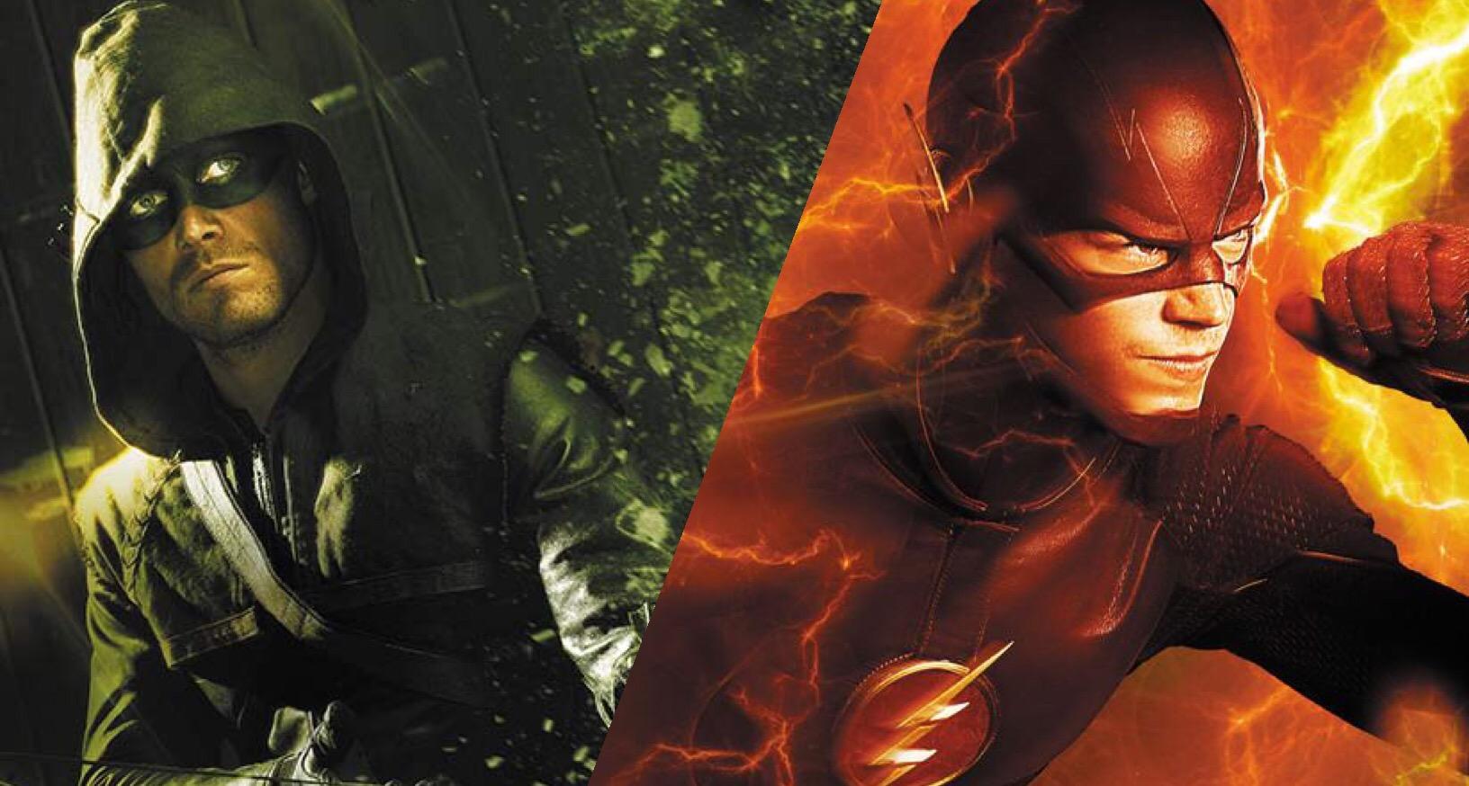 Photos the flash arrow wallpaper 1632x874
