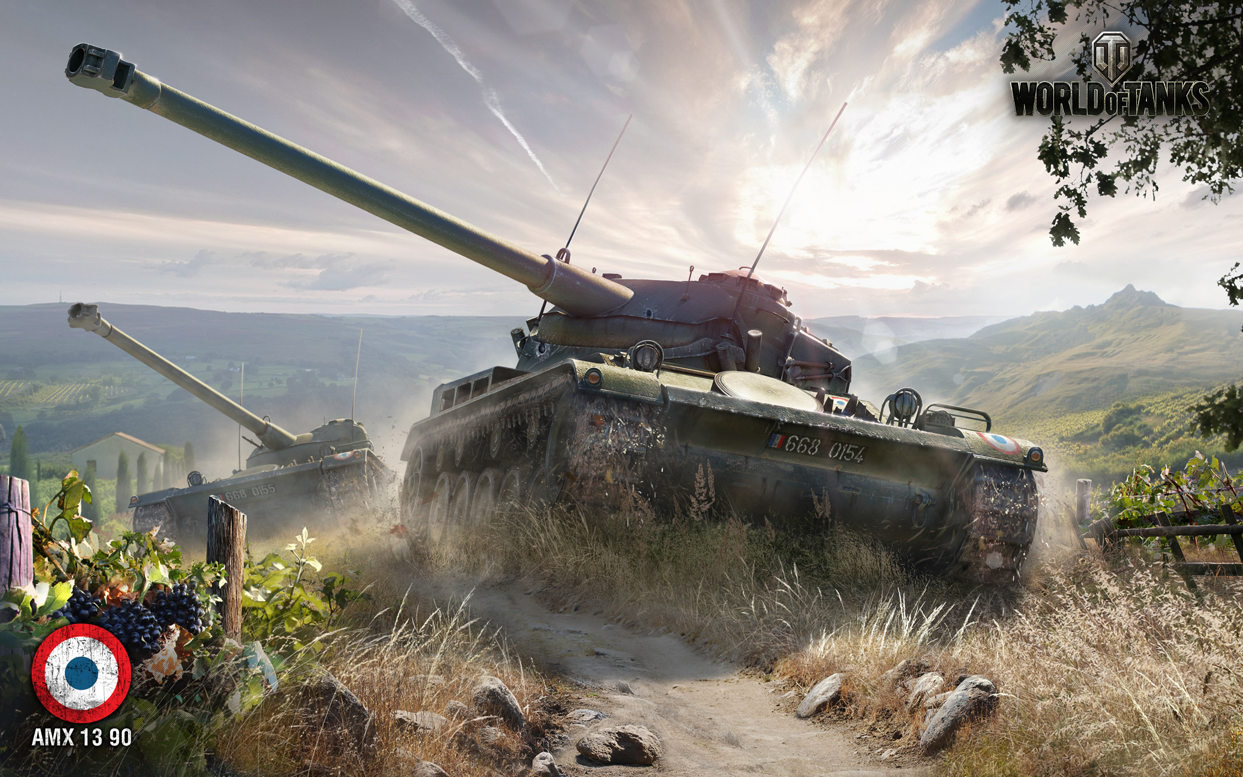AMX 13 90 World of Tanks Wallpapers HD Wallpapers 2560x1600