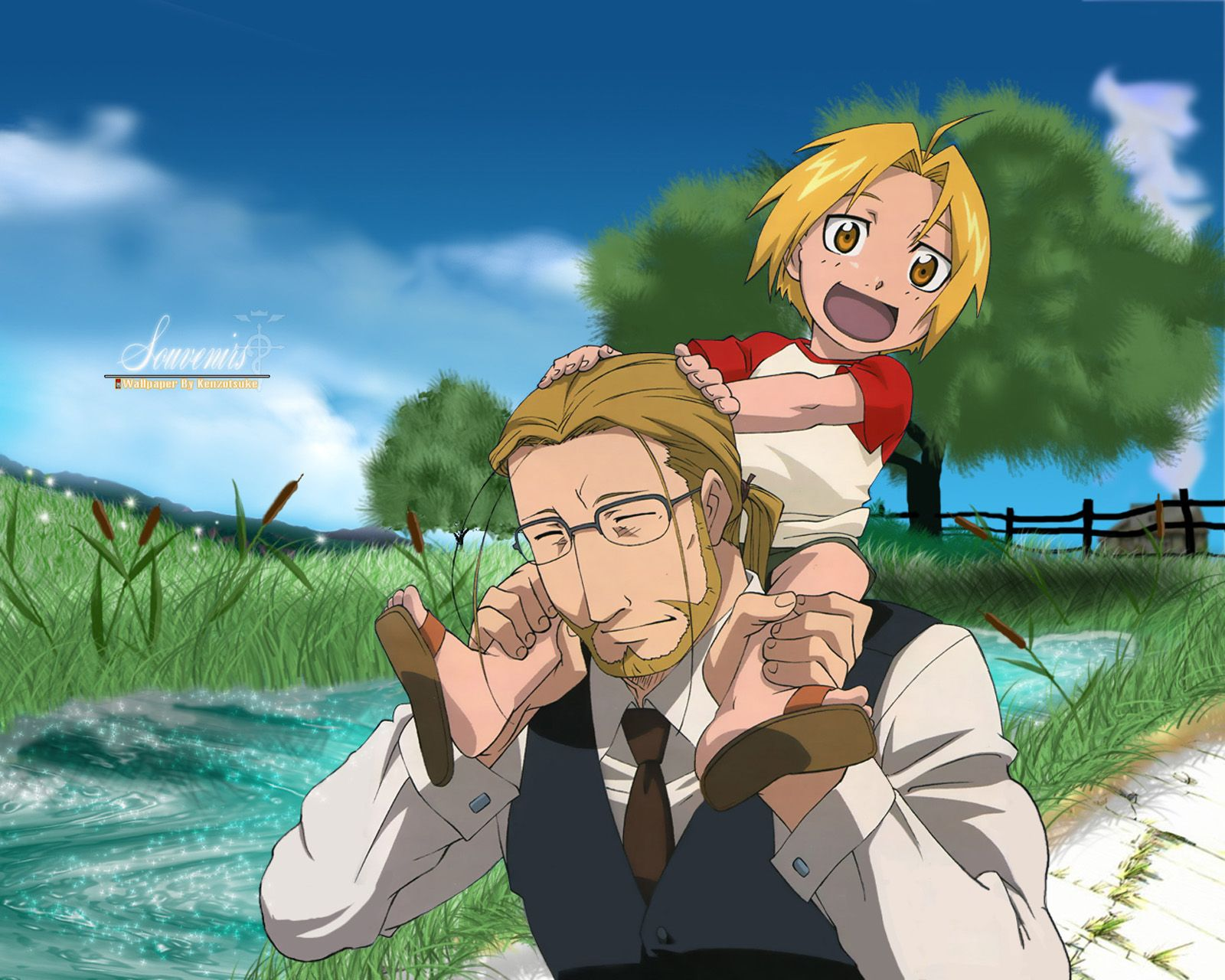 Happy Fathers Day anime dads fma wallpaper FathersDay 1600x1280