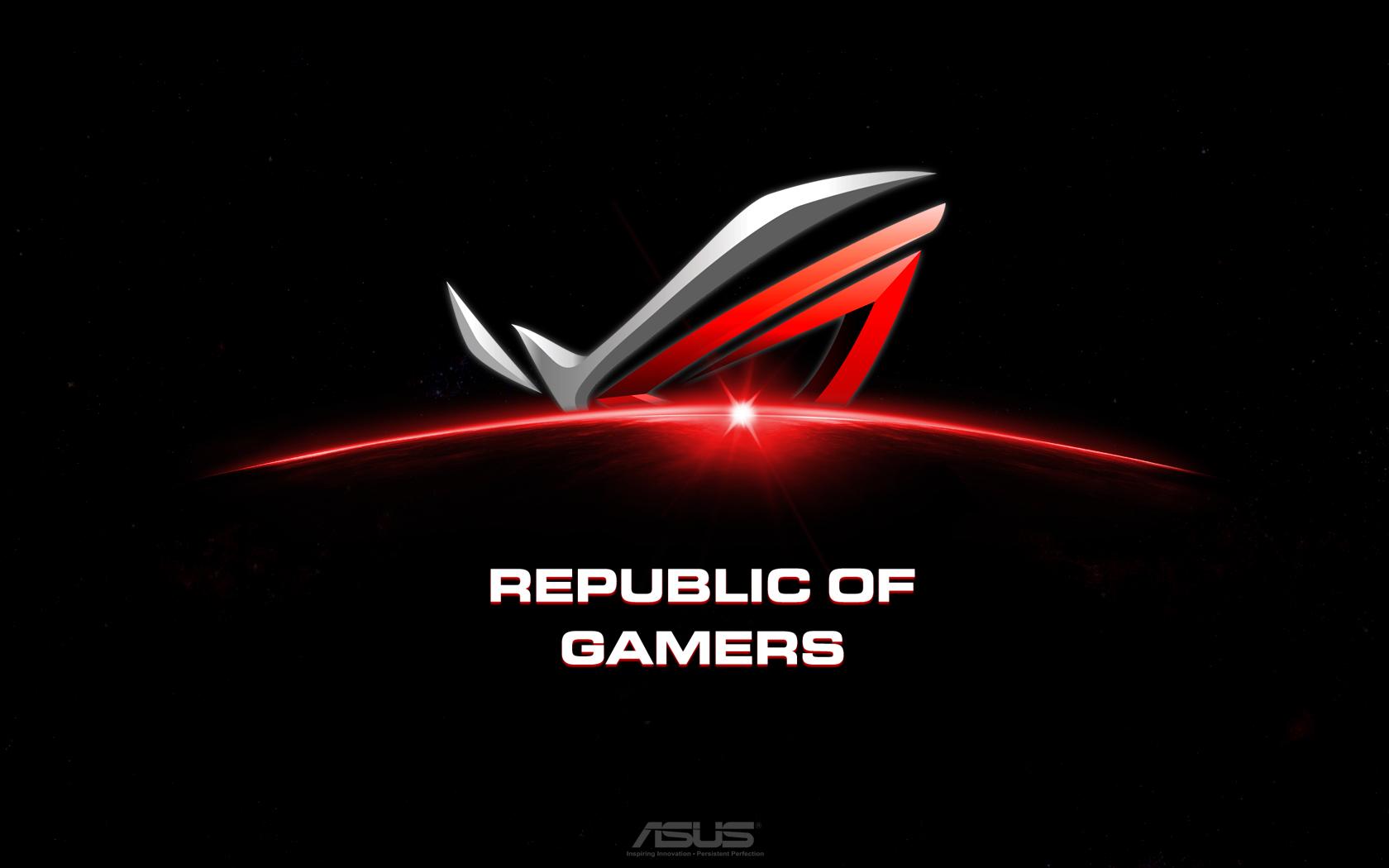republic of gamers wallpaper 1680x1050