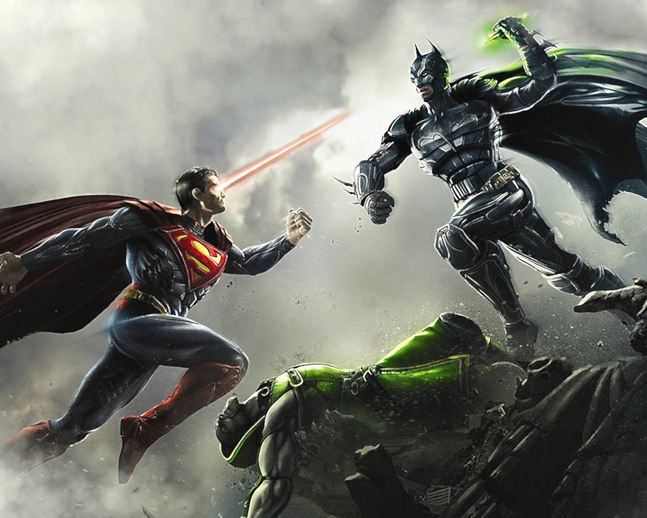 1280x1024 Batman vs Superman desktop PC and Mac wallpaper 1280x1024