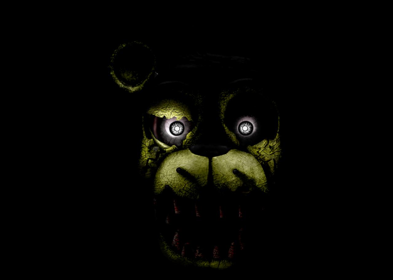 Five Nights at Freddys 3   Golden Freddy by 1280x914