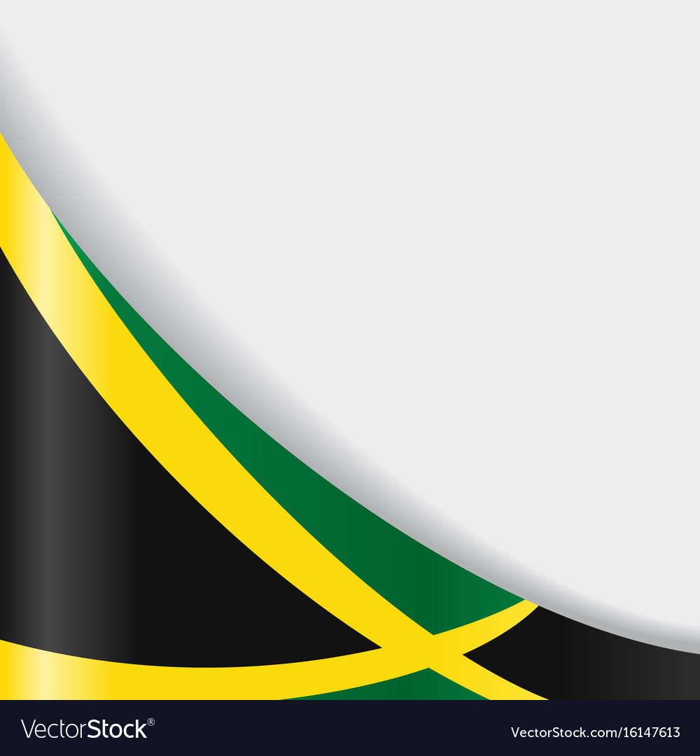 Jamaican flag background Royalty Vector Image 1000x1080