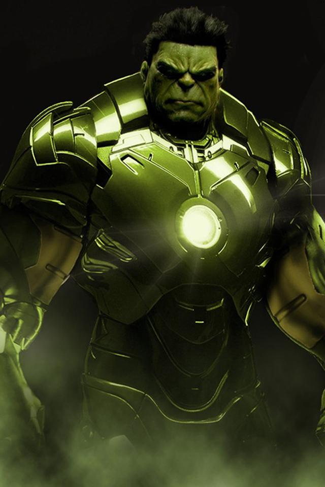 Iron Man Hulk iPhone 4 Wallpaper 640x960 640x960