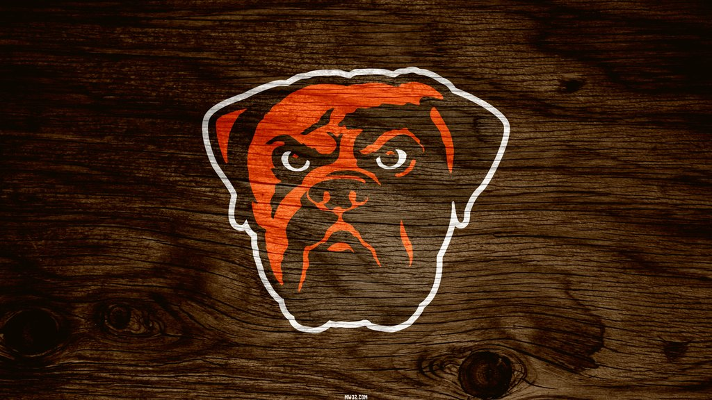 Browns Logo Wallpaper Cleveland browns brown 1024x576