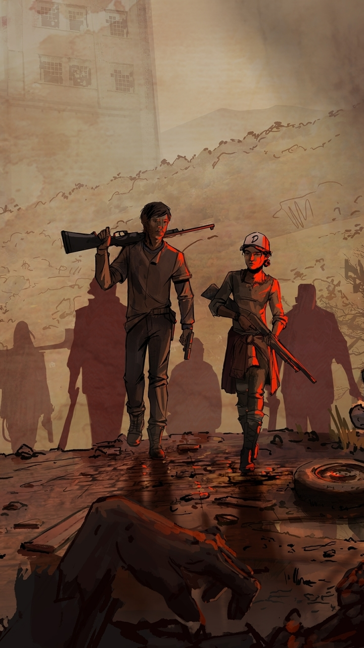Video GameThe Walking Dead A New Frontier 720x1280 Wallpaper 720x1280