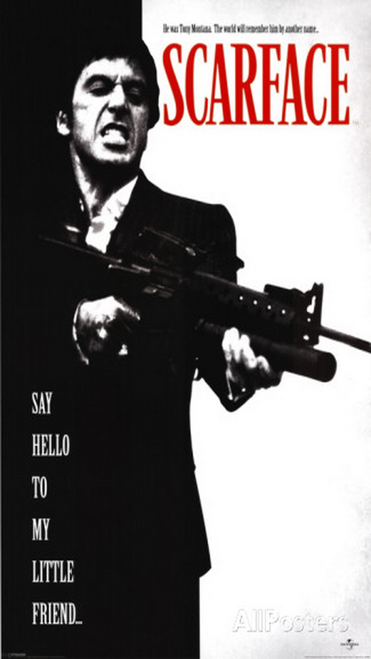 Scarface Wallpaper Hd Iphone 750x1334