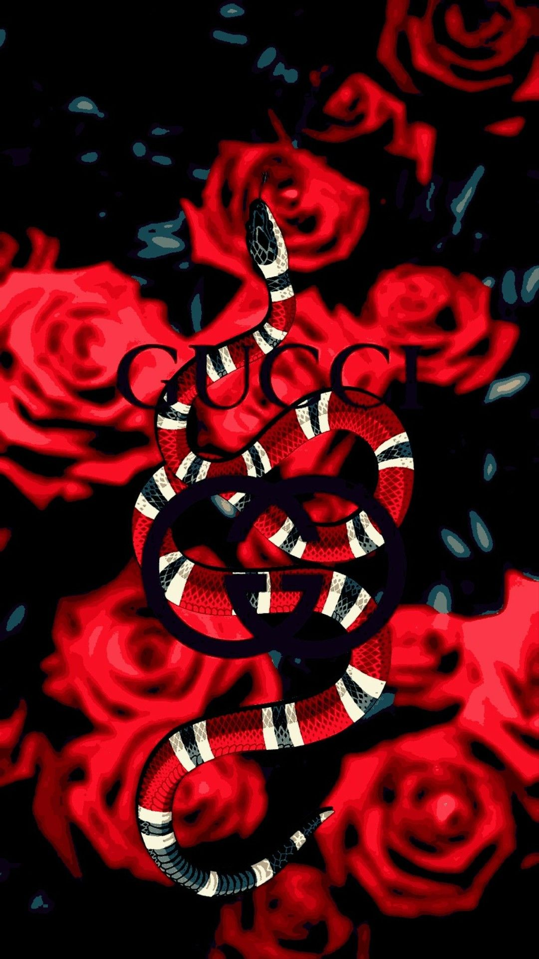Roses of Gucci Snake Watchfaces in 2019 Gucci wallpaper iphone 1080x1920