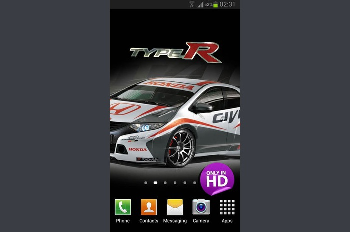 3d honda logo live wallpaper colorful live wallpaper for android by 700x464