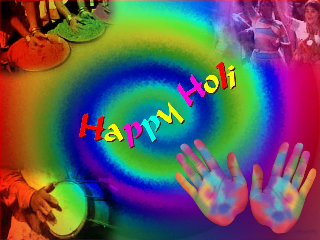 Holi Messages Wallpapers Happy Holi ALLROUNDER 1024x768