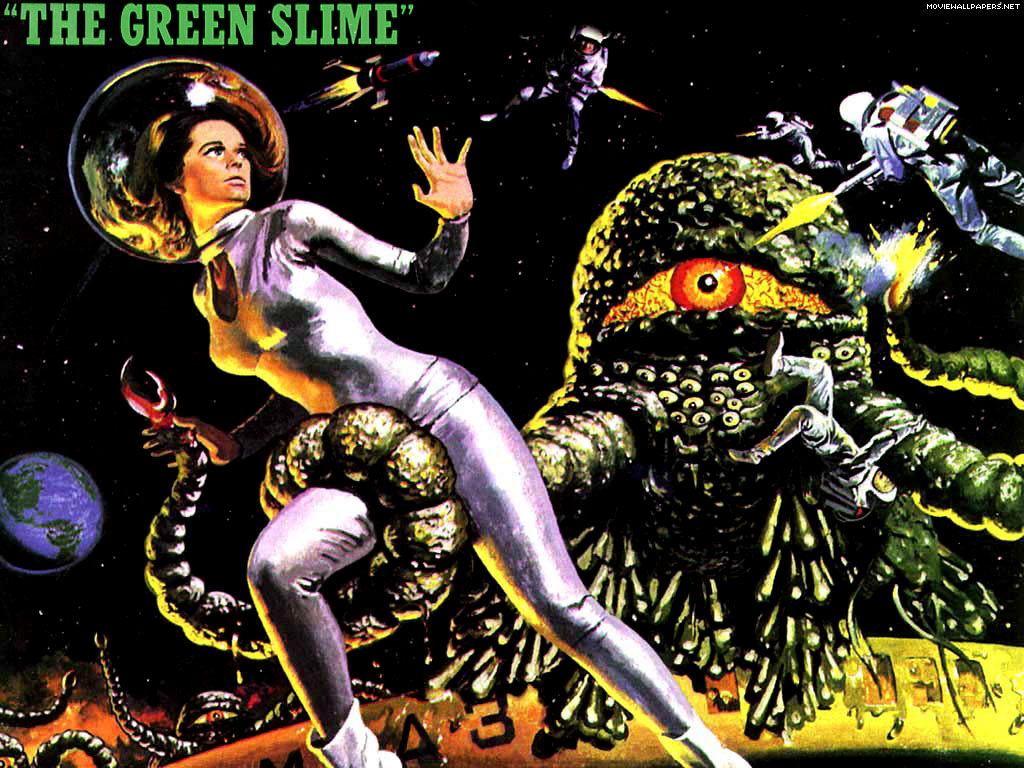 The Green Slime   Classic Science Fiction Films Wallpaper 1025105 1024x768