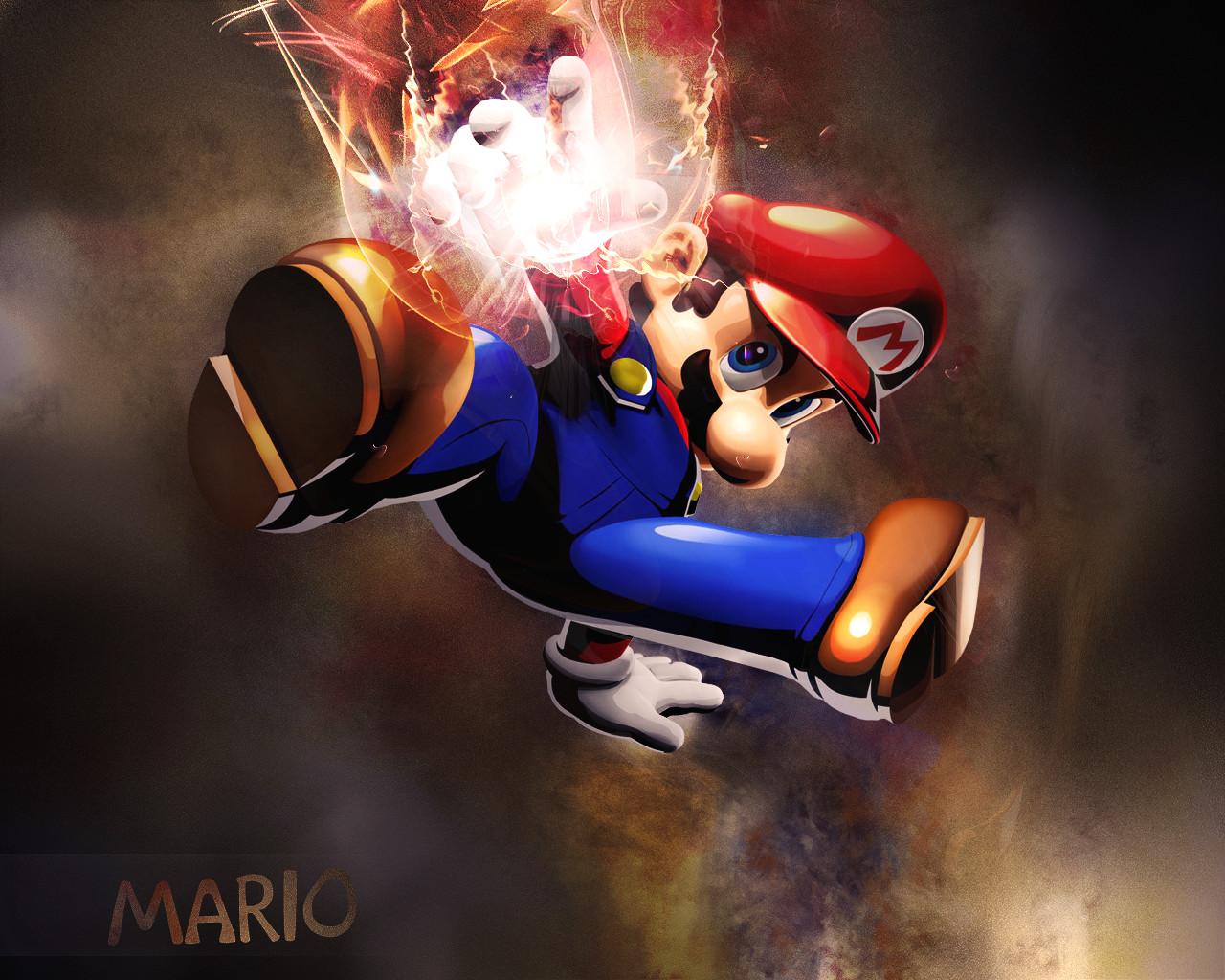 Mario Desktop Backgrounds: Epic Mario Wallpaper