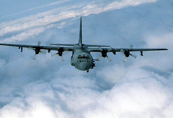 Lockheed AC 130 Spectre Gunships 600x408