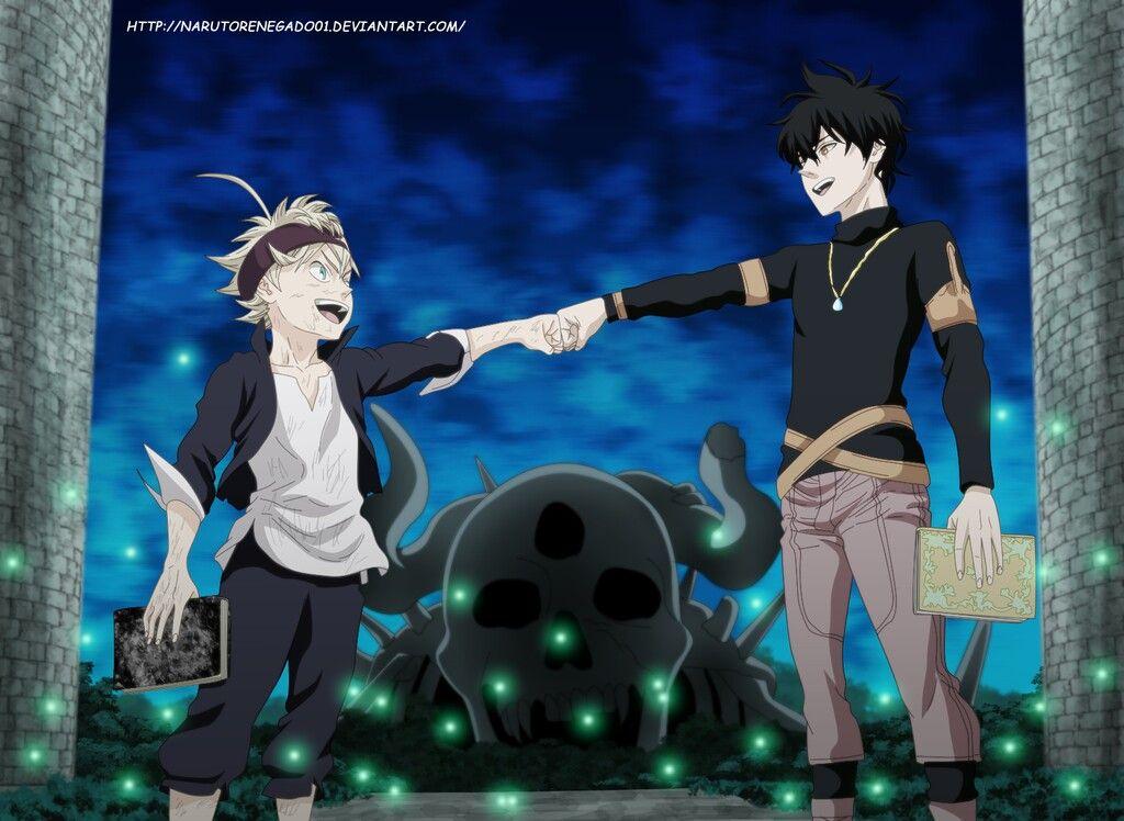 Asta Yuno Black Clover Anime Black clover anime Clover 1024x748