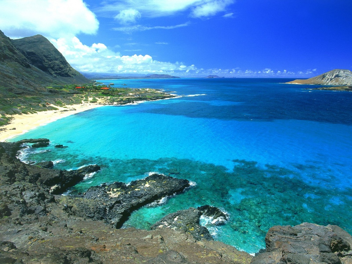 1152x864 Makapu Oahu Hawaii desktop PC and Mac wallpaper 1152x864
