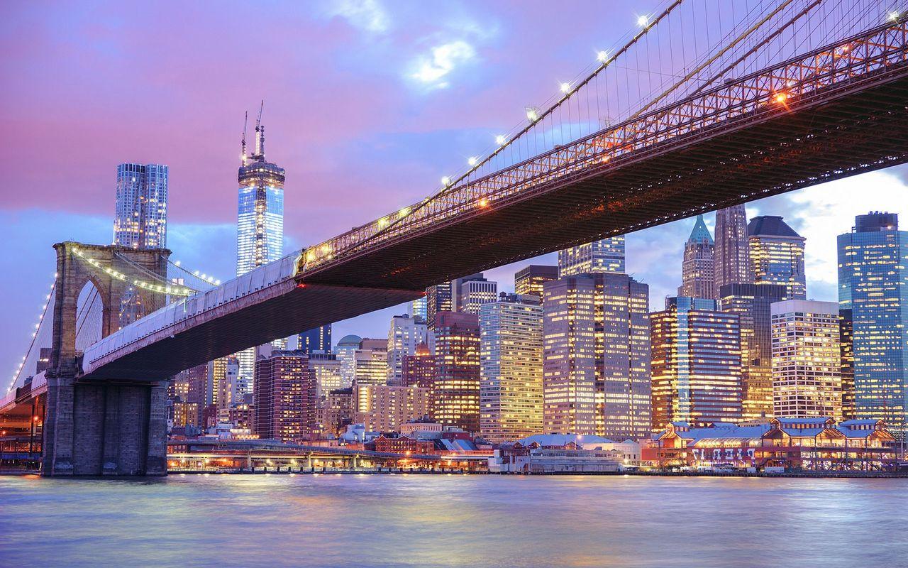 Brooklyn Bridge wallpaper 19162 1280x800
