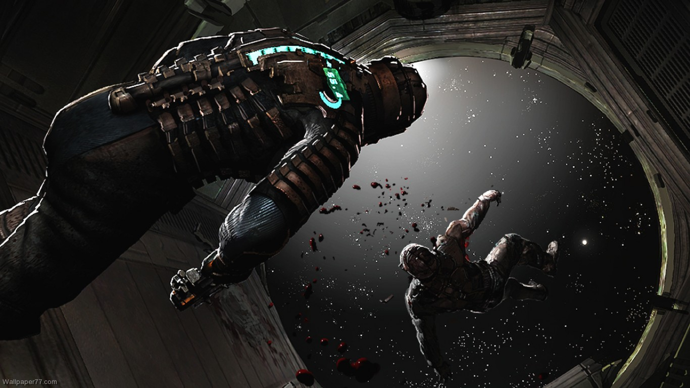 Dead Space Wallpaper 3 dead space wallpapers game wallpapers 1366x768 1366x768