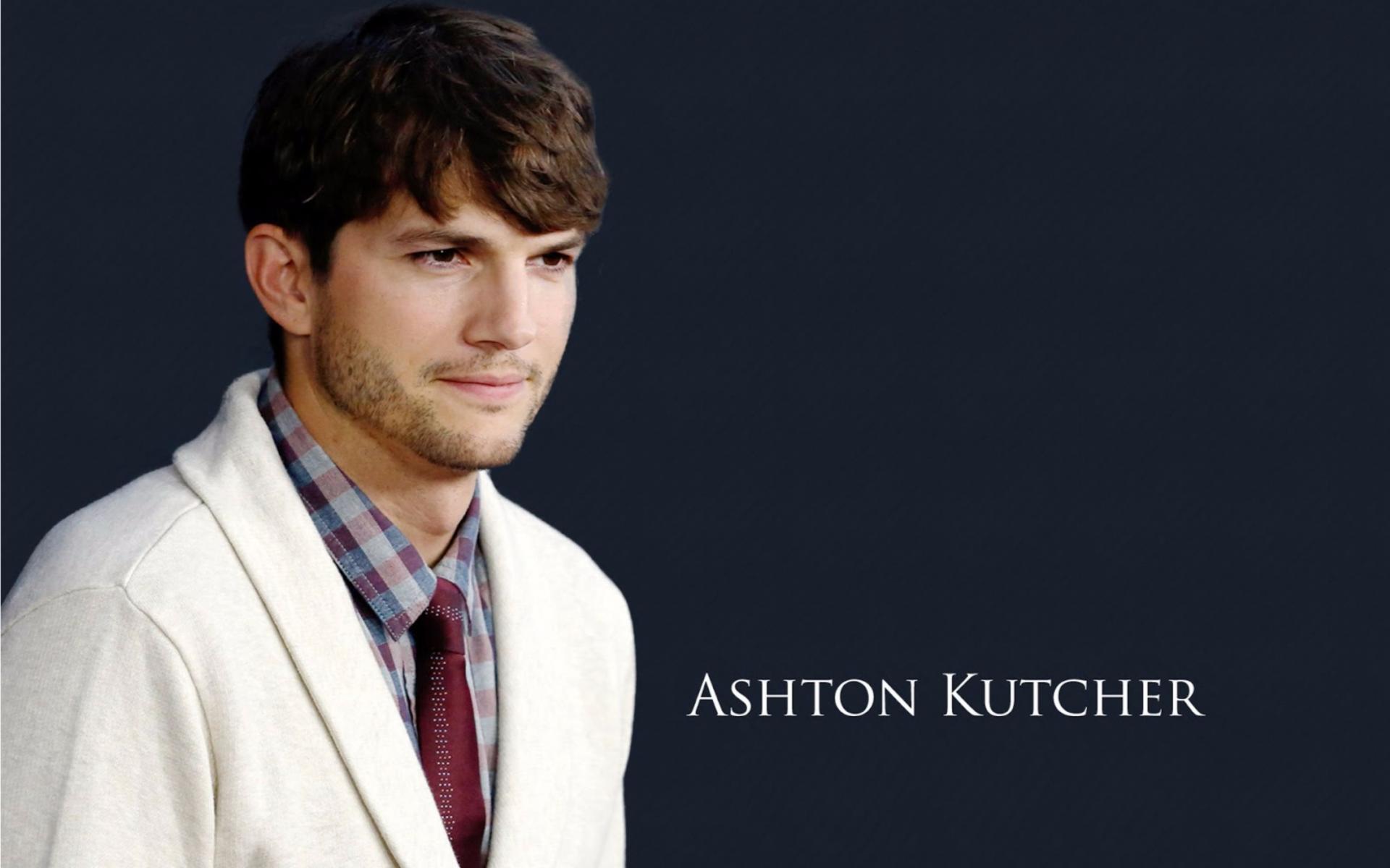 Ashton Kutcher Wallpaper 16   3840 X 2160 stmednet 1920x1200