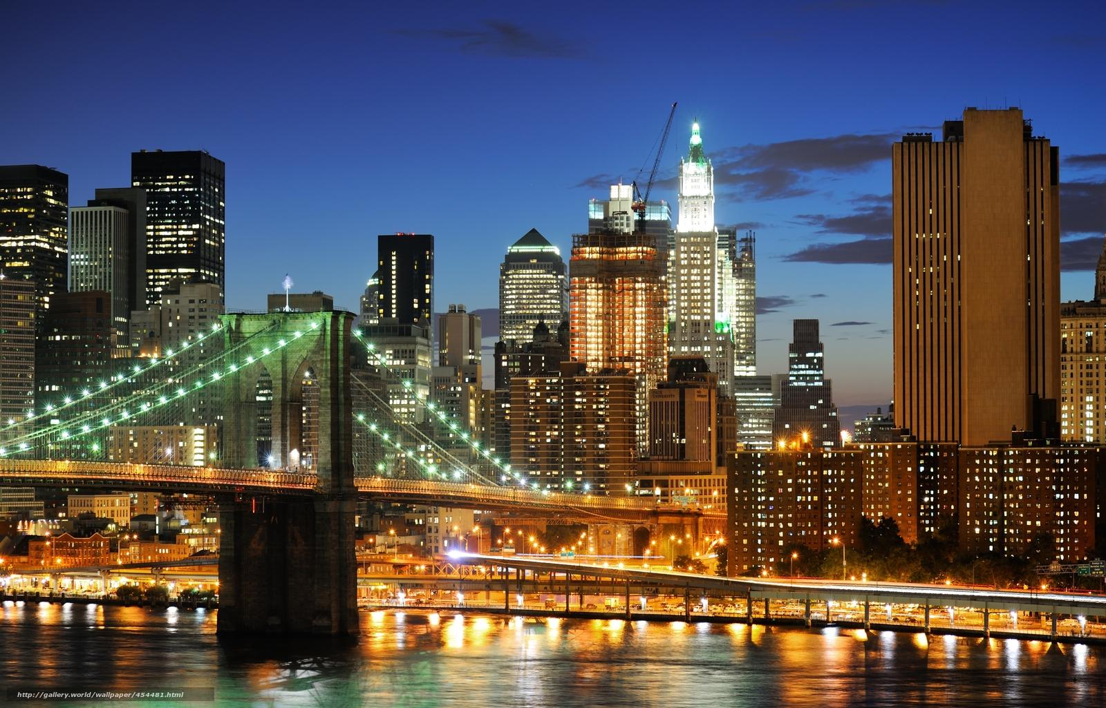 wallpaper new york city nyc USA New York desktop wallpaper 1600x1025