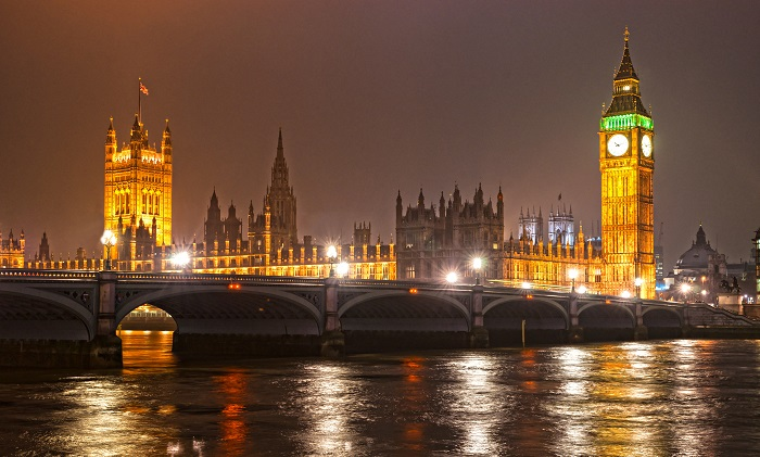 Big Ben At Night Wallpaper London Wallpapers Wallpaper Ink 700x421