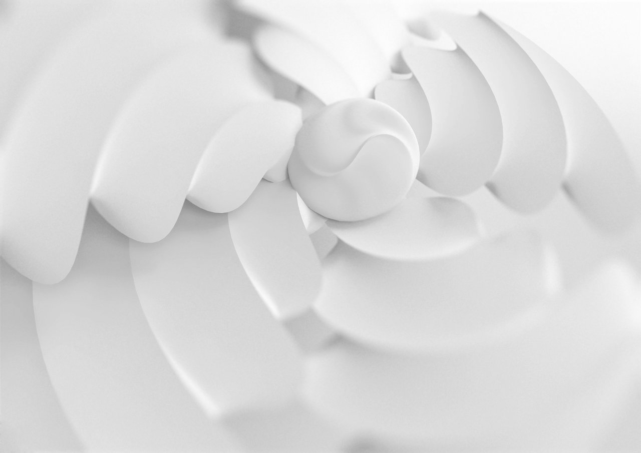Abstract white wallpaper by CrowInHand 1280x905