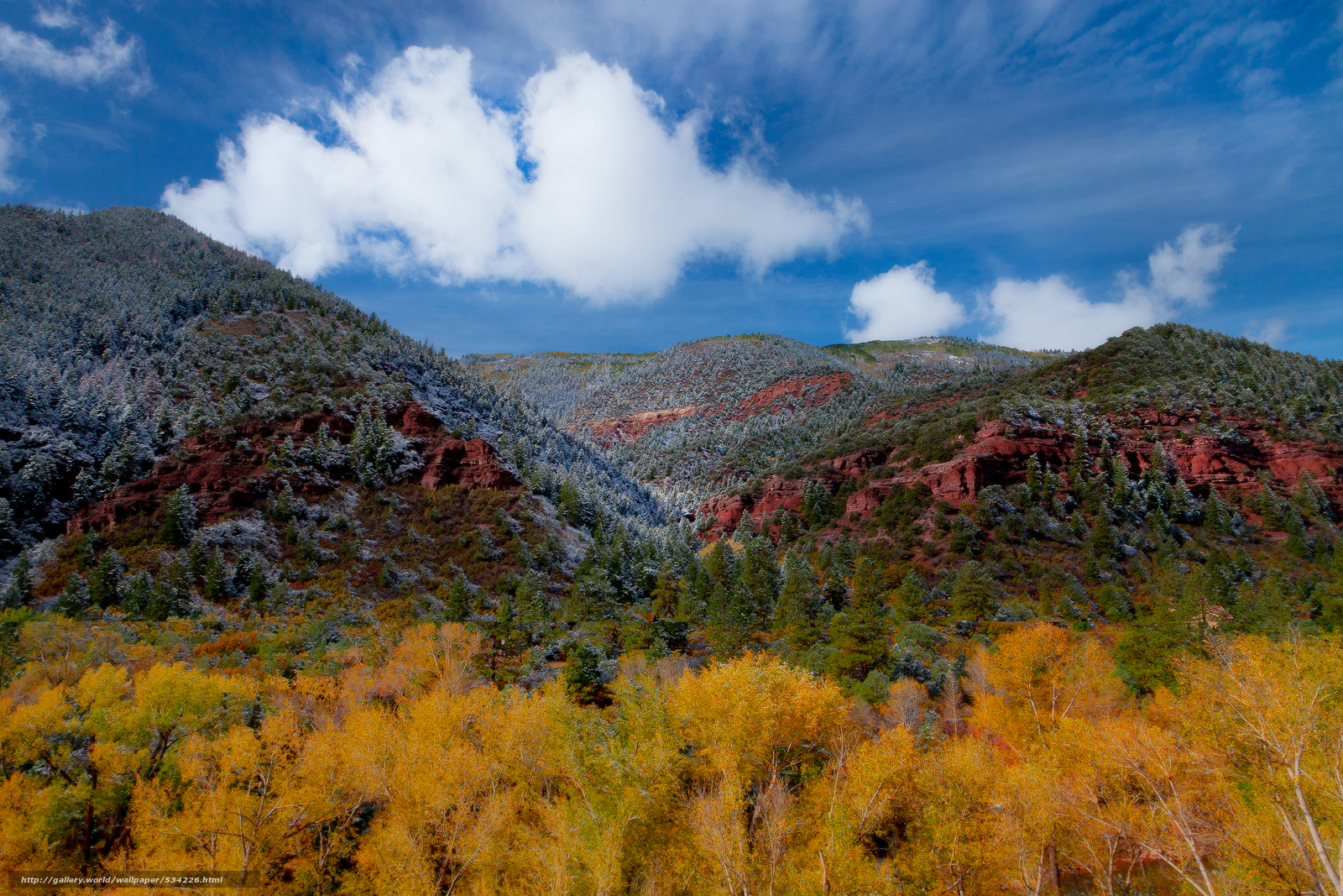 wallpaper canyons of color outside telluride colorado desktop 1600x1067