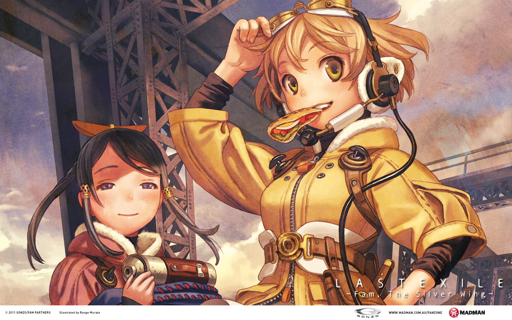 Last Exile  Fam the Silver Wing  Wallpapers   Madman 1680x1050