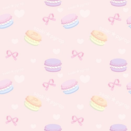 pixels pastel cutie Kawaii Backgrounds C Note I 500x500