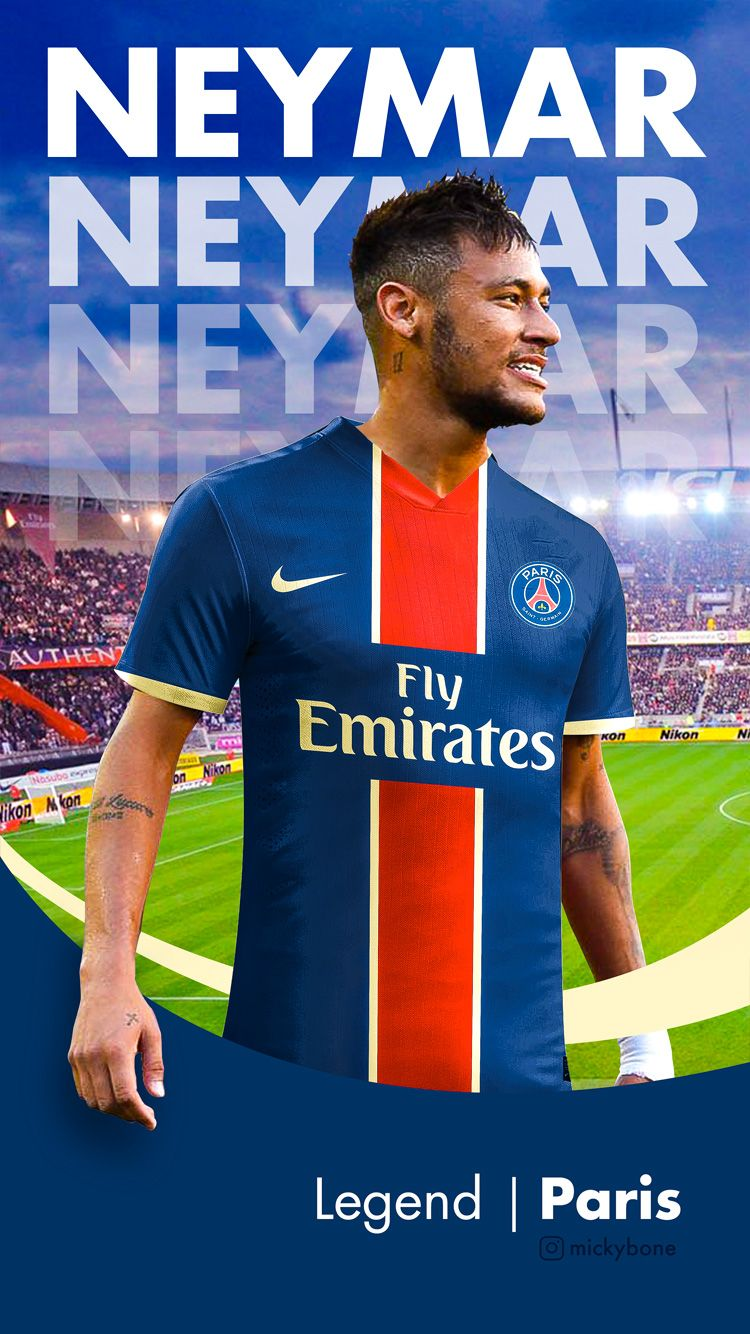 Neymar JR PSG Wallpapers 750x1334
