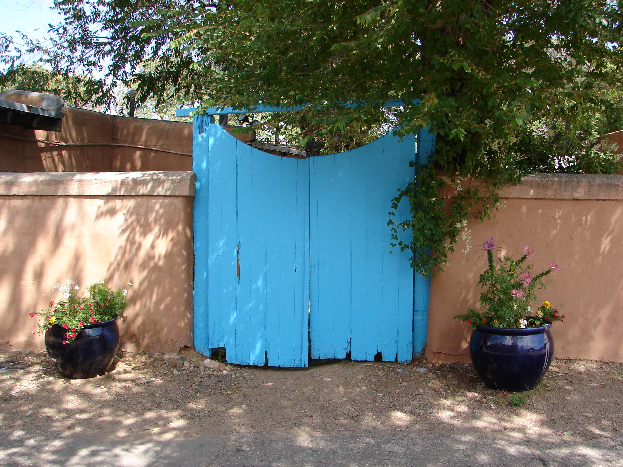 Blue Gate in Santa Fe NM USA Desktop and mobile wallpaper Wallippo 2048x1536