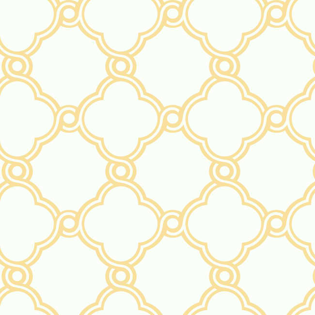 Orange Cream AP7482 Open Trellis Wallpaper   Contemporary Modern 650x650