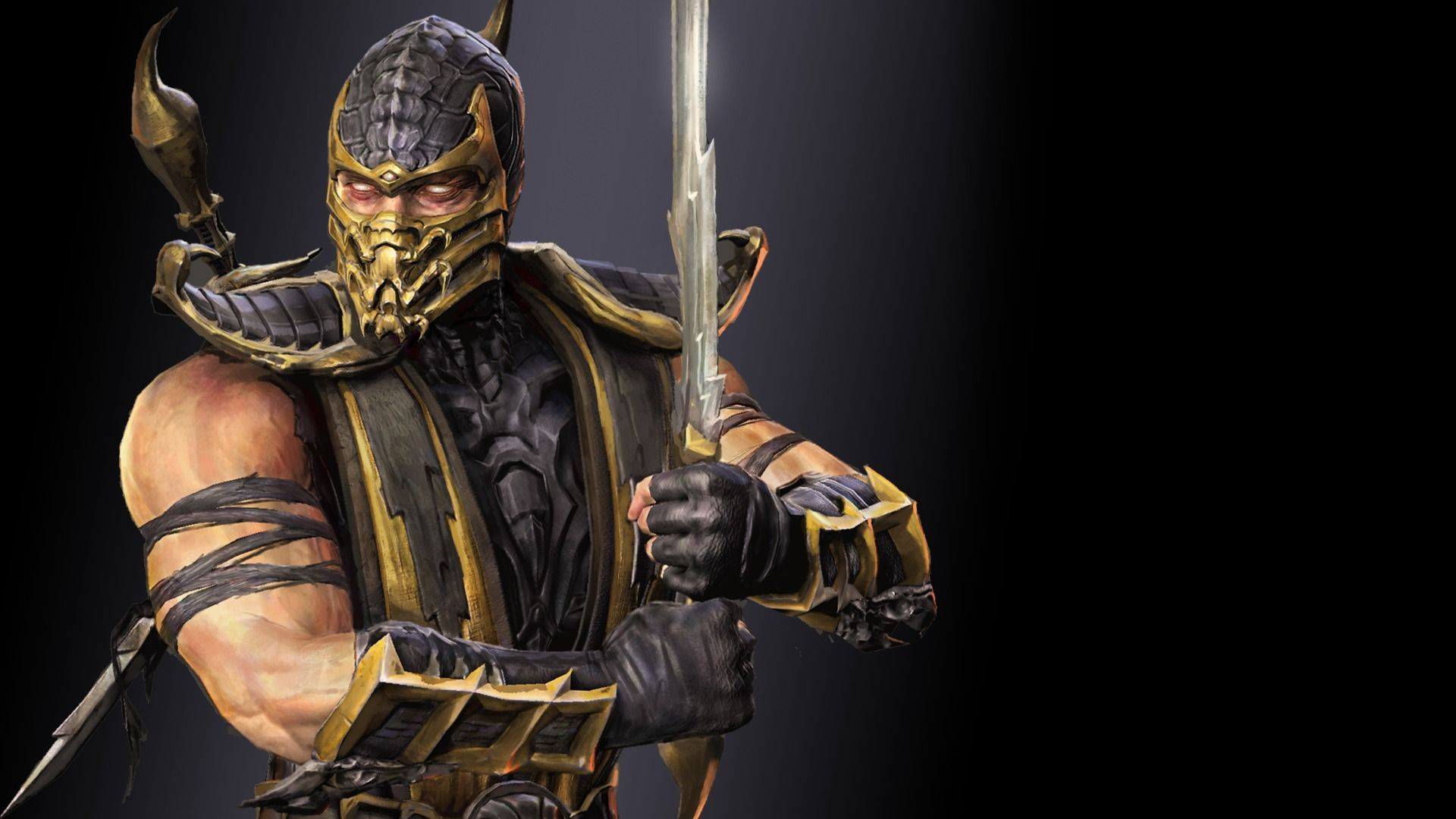 scorpion in mortal kombat hd wallpaper 4068 1920x1080