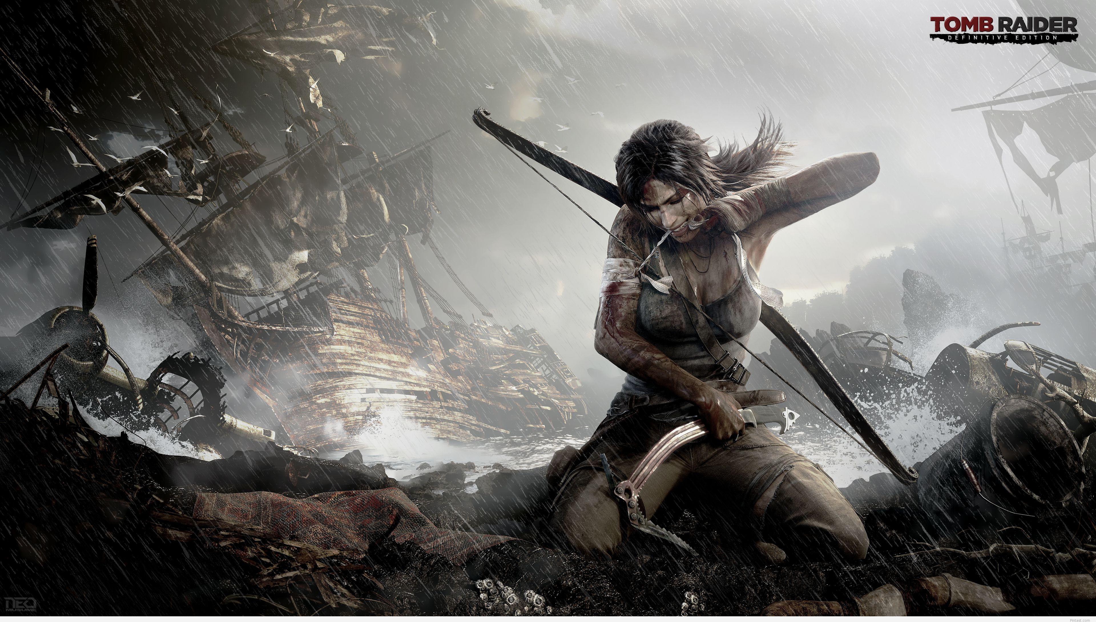 Tomb Raider Definitive Edition 4K High Quality Wallpaper Pintast 3840x2180