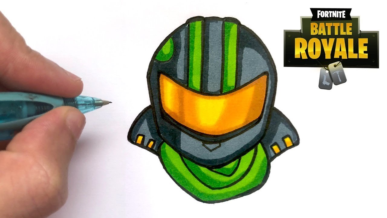 How To Draw Fortnite Lucky Rider Skin Youtube   Ballersinfocom 1280x720