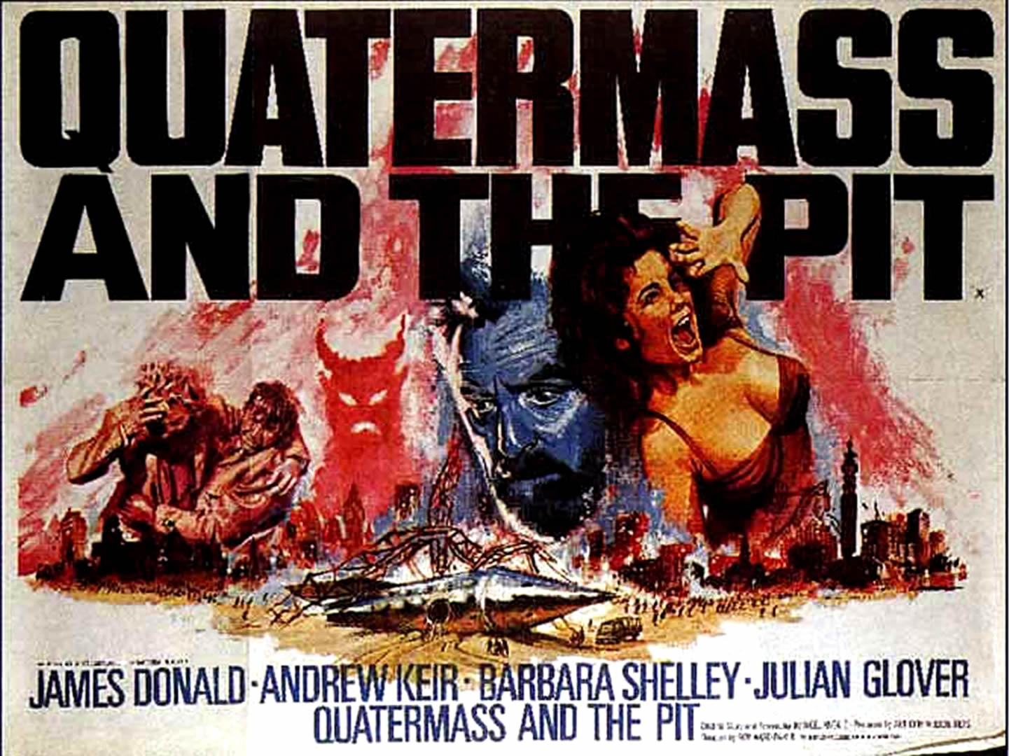 QUATERMASS AND THE PIT   Alien Invasion B Movie Posters 1441x1080