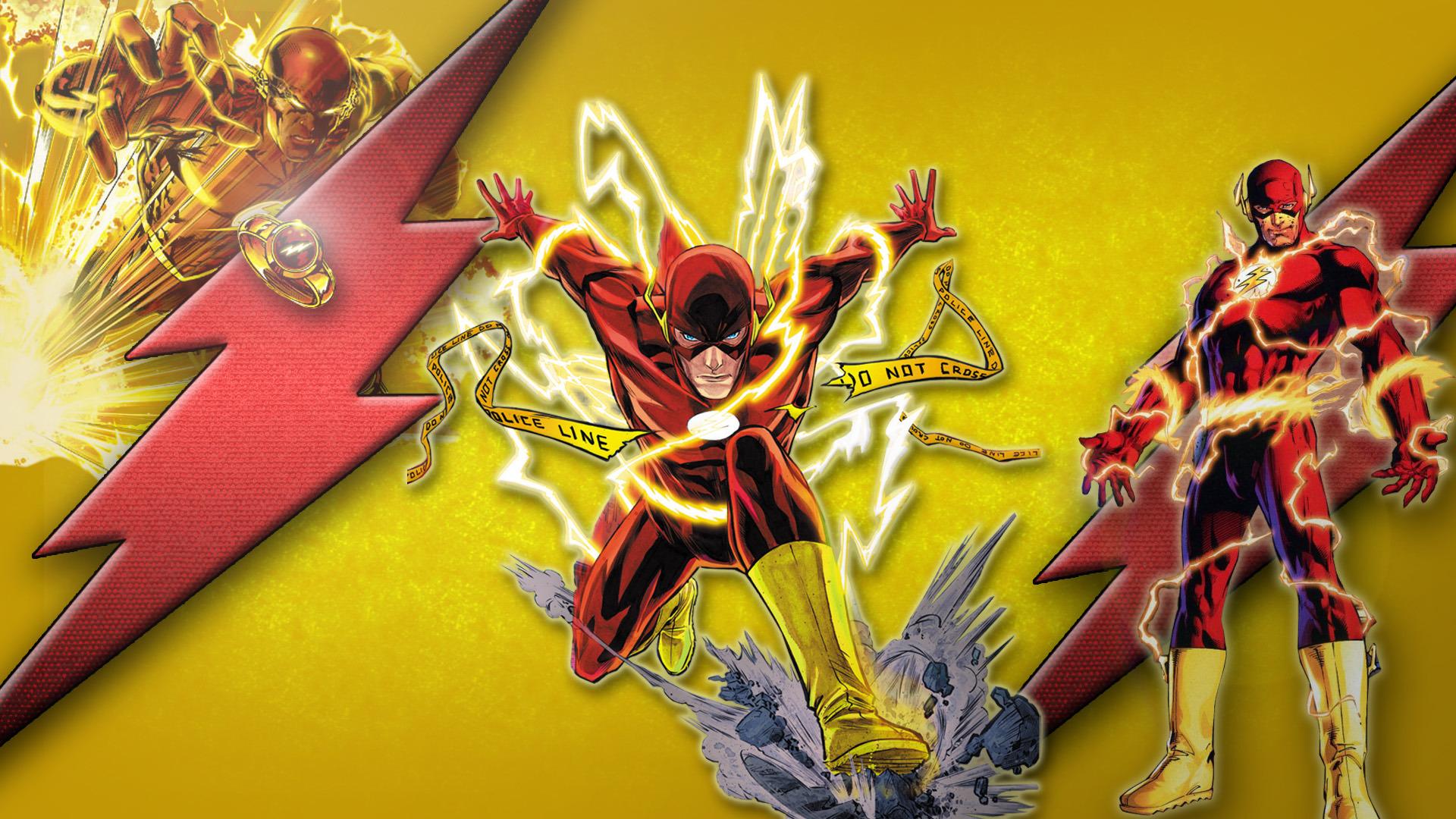 The Flash New 52 Wallpaper Wallpapersafari