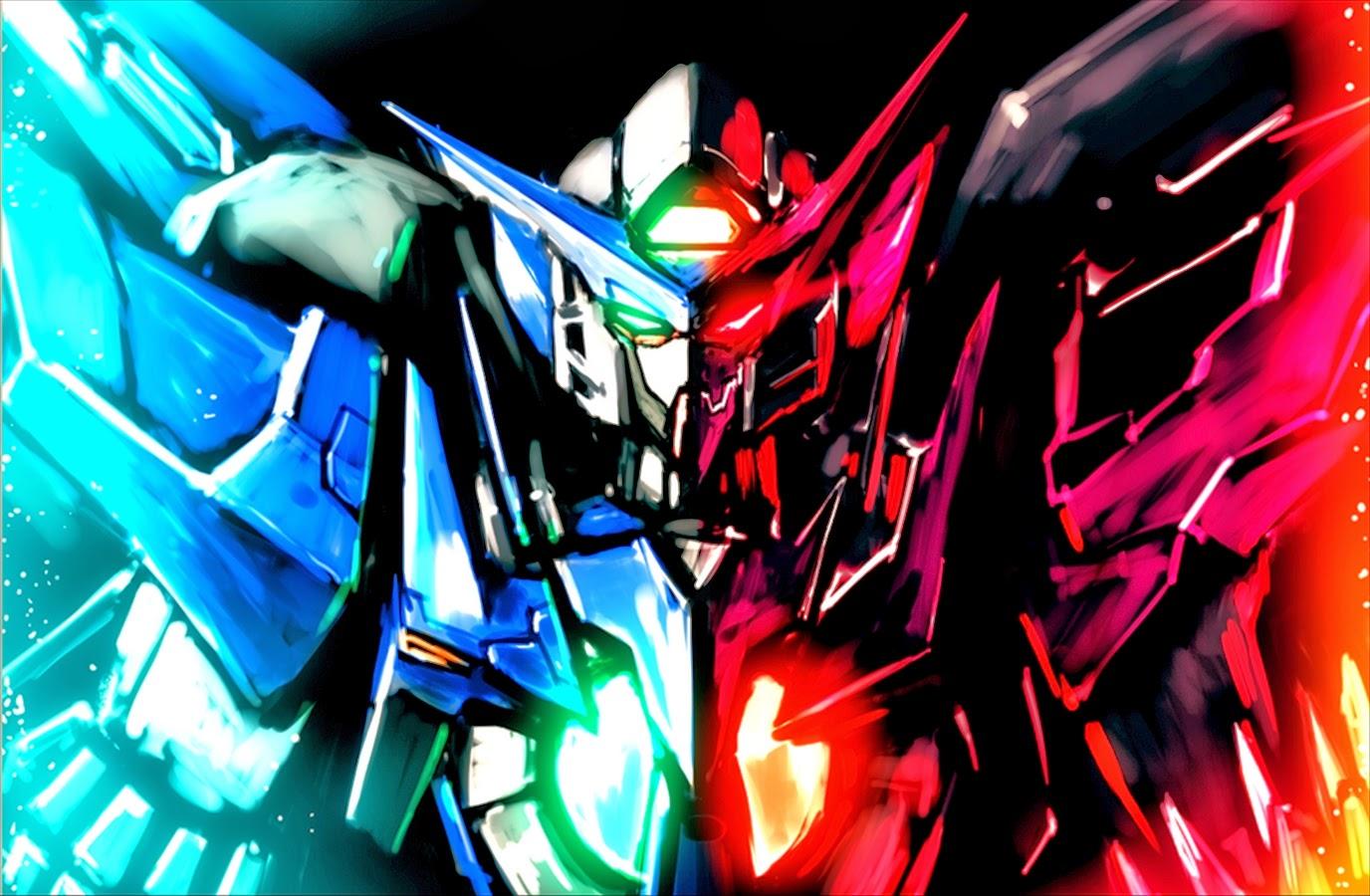 Gundam Exia Dark Matter Wallpaper Poster Image   Fanmade 1376x900