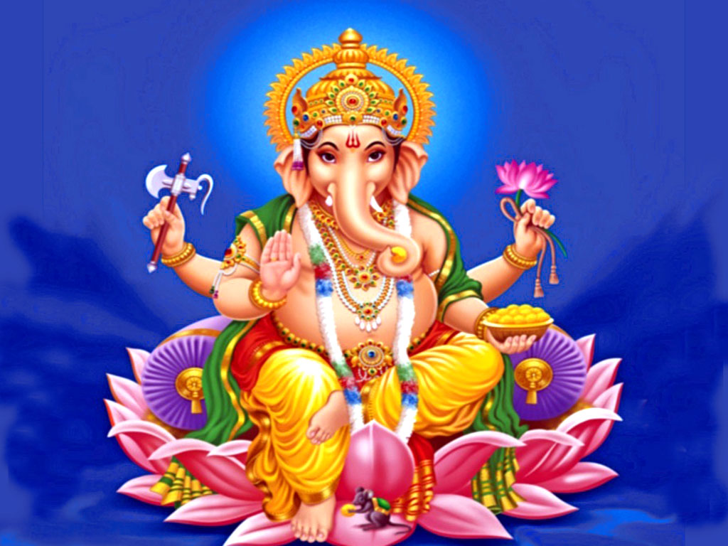 FREE Download Ganpati Ji Wallpapers 1024x768
