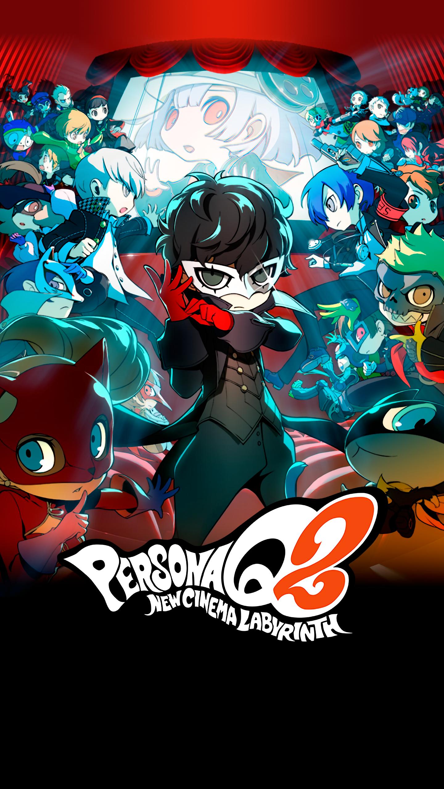 Persona Q2 Wallpapers   Top Persona Q2 Backgrounds 1440x2560