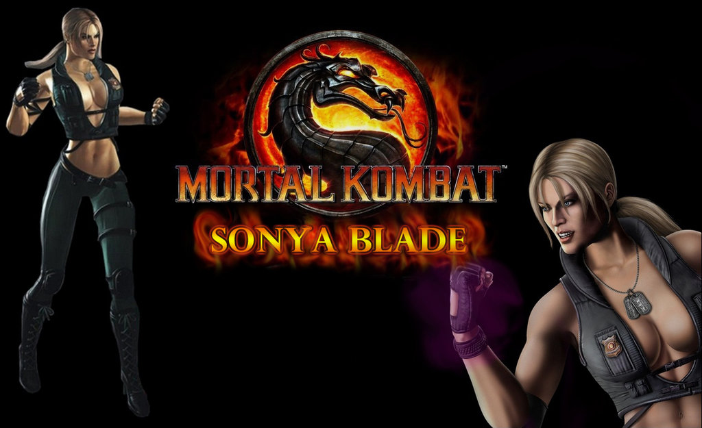Wallpaper SONYA BLADE   MK9 by luanoliveira1988 1024x625